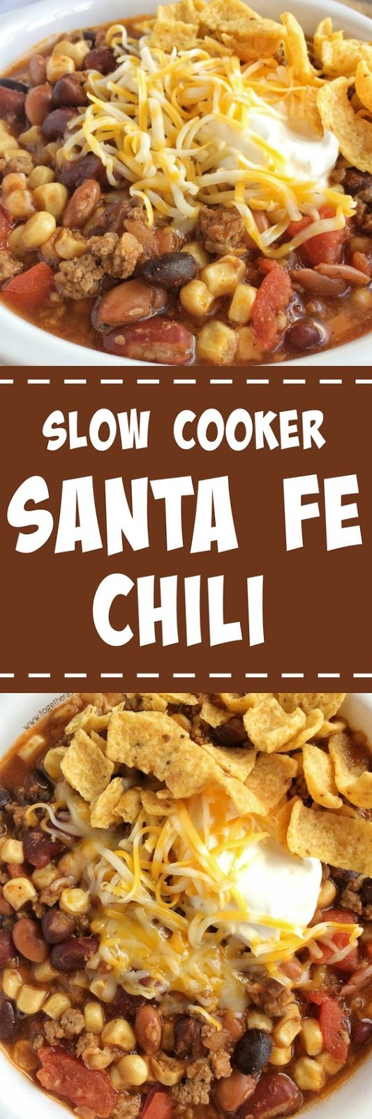 SLOW COOKER SANTA FE CHILI