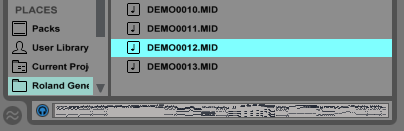 Ultimate Outsider: Playing General MIDI Files on Ableton Live Part 1