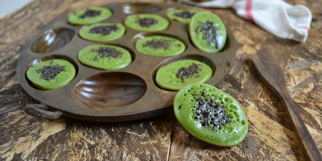 Kue Cubit Green Tea Empuk