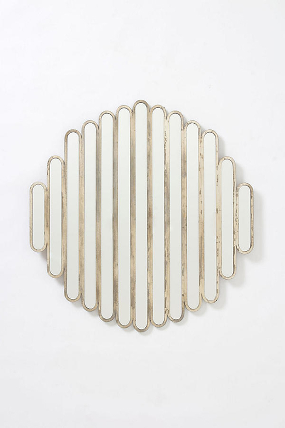 Abate Slatted Mirror via Anthropologie