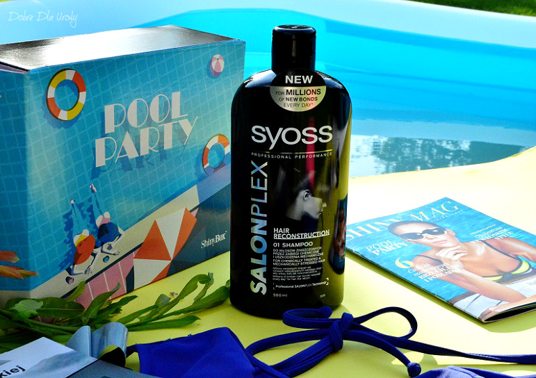 Pool Party by ShinyBox Schwarzkopf Professional Szampon do włosów SYOSS