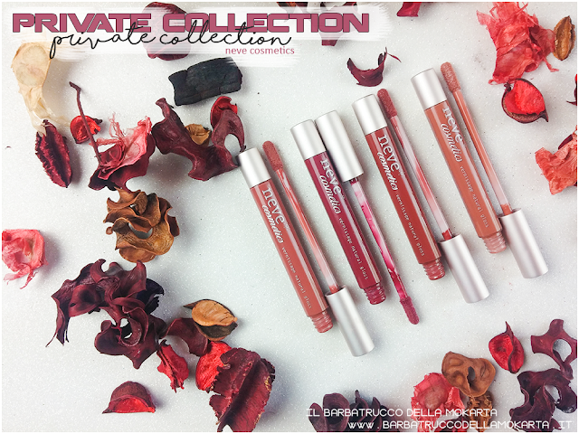 applicatore swatches swatch vernissage  gloss neve cosmetics , private collection review recensione