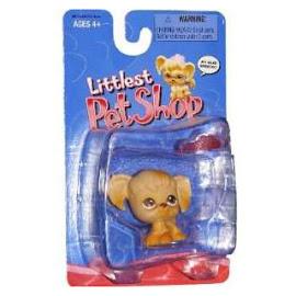 Littlest Pet Shop Singles Spaniel (#26) Pet