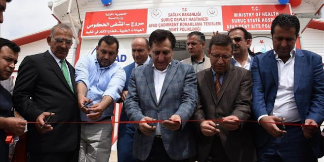 Subhanallah ! Turki Buka Rumah Sakit Terbesar Untuk Pengungsi Suriah