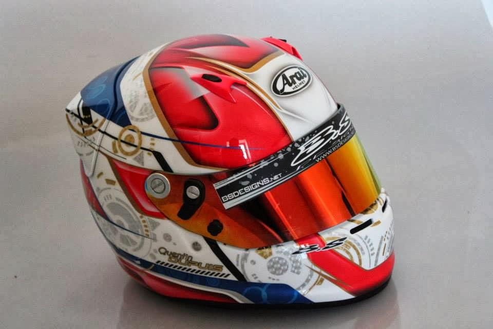 Racing Helmets Garage Arai Sk 6 Q Dupus 2013 By Bs Designs