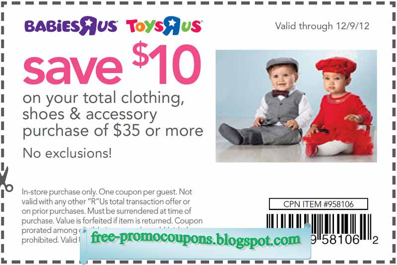 Babies r us coupons online may 2018