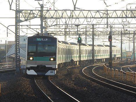 常磐線 千代田線直通 各駅停車 霞ヶ関行き1 E233系2000番台
