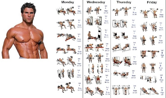 Schedule to Build Muscles in a Simple Way