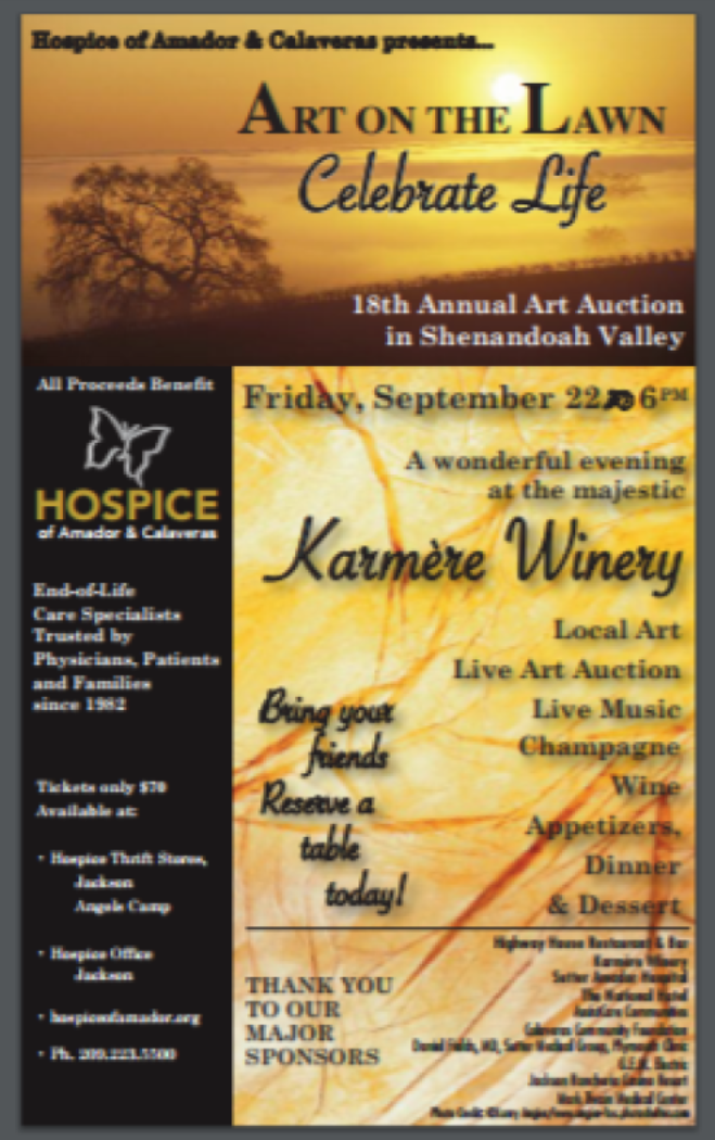 18th Annual Art on the Lawn - Fri Sept 22