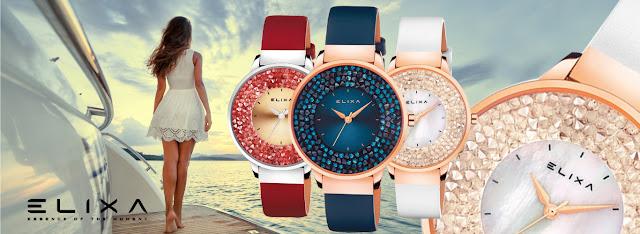 Đồng hồ Elixa cho cô nàng dịu dàng