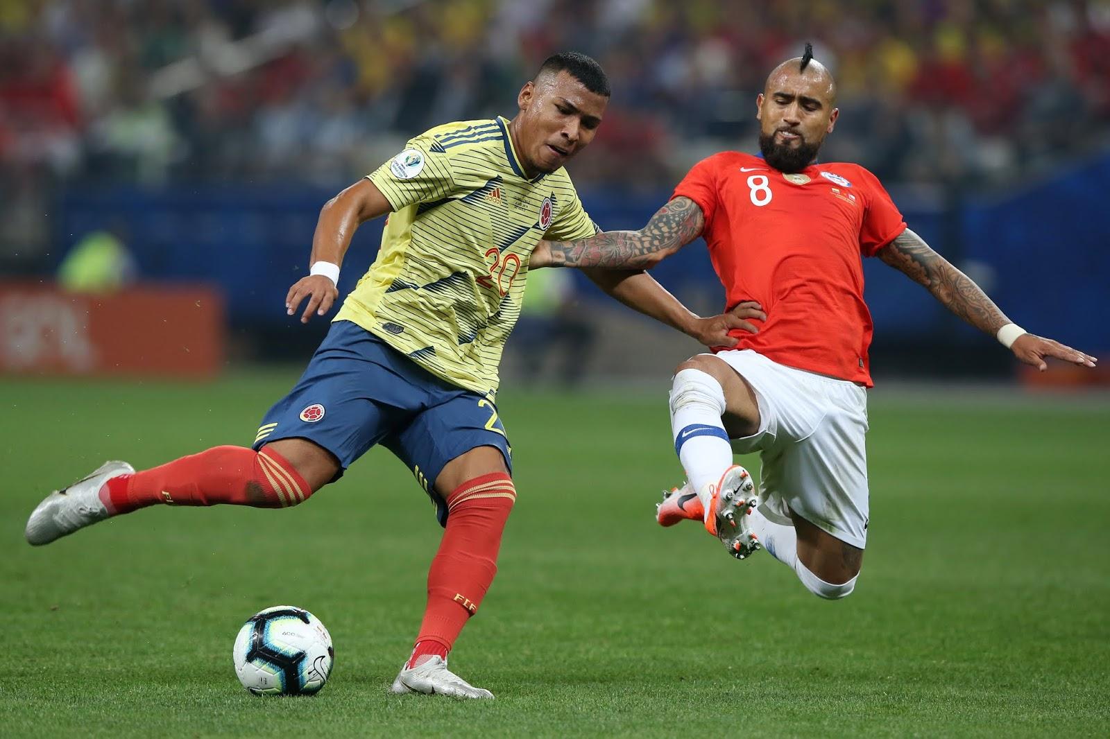 Colombia y Chile en Copa América 2019, 28 de junio