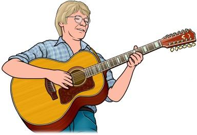 アコースティック 12弦ギター (12-string guitar)