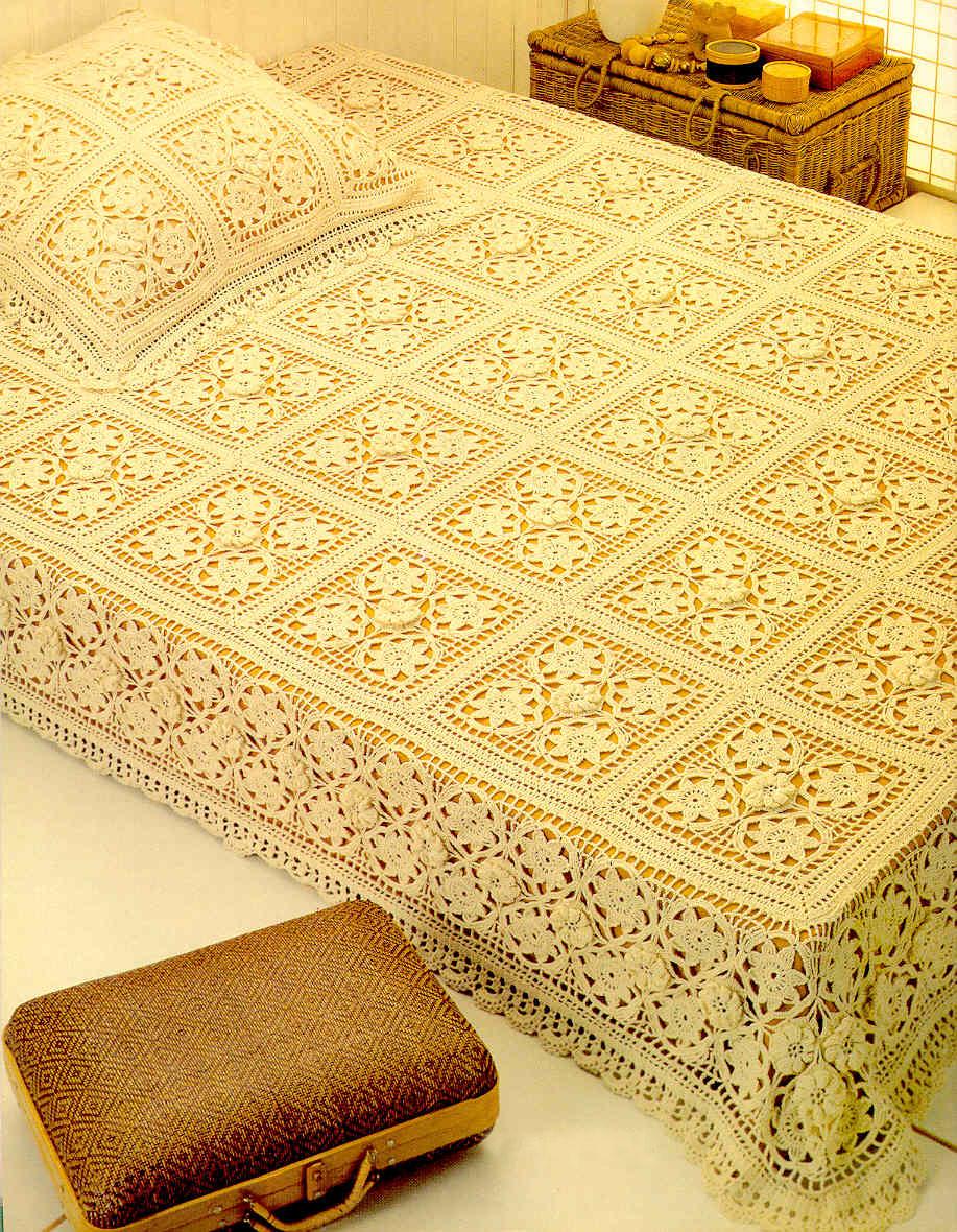 Free crochet patterns to download free english crochet patterns for free crochet bedspread 1703 bankloansurffo Choice Image