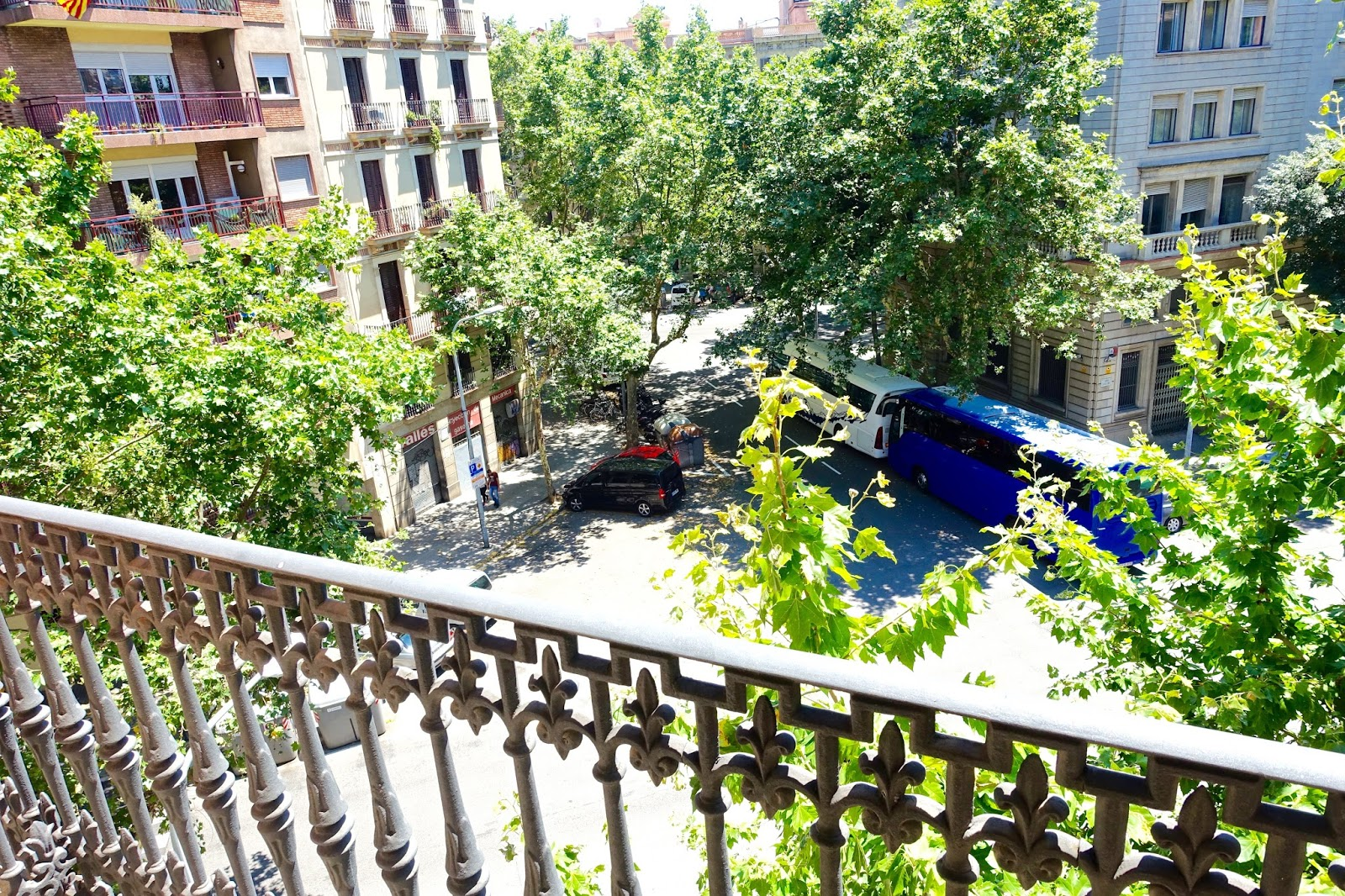 balcony at NH collection barcelona