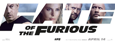 The Fate of the Furious Banner Poster 4