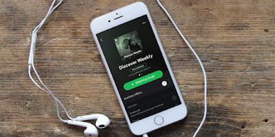 Ternyata Pemakai Spotify Indonesia streaming musik 90 menit Setiap harinya