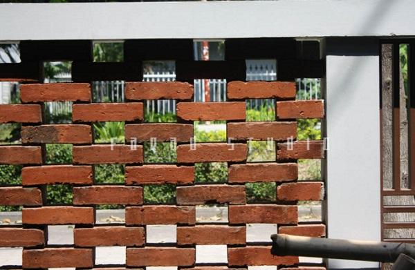Model Desain Pagar Batu Bata Rumah Minimalis Terbaru dan