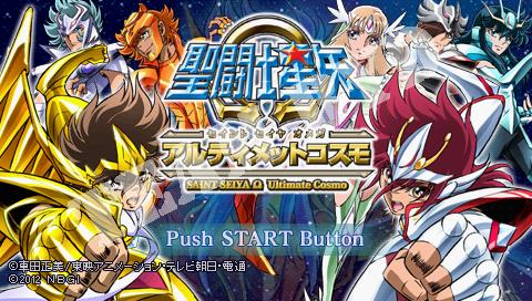 Saint Seiya Omega último Cosmos PSP
