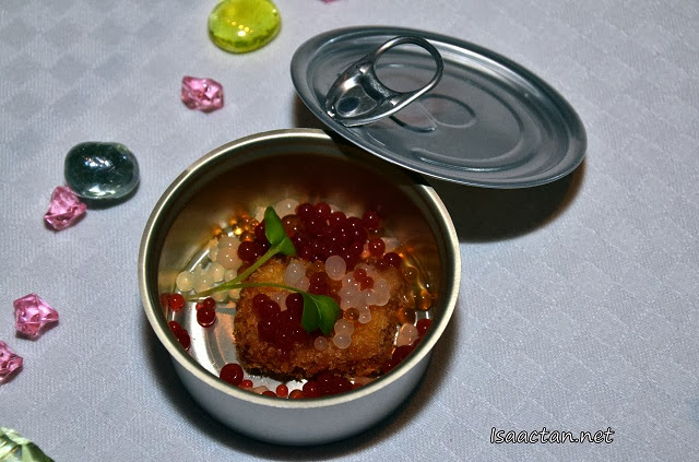 Foie Gras Mousse with Flavoured Pearls