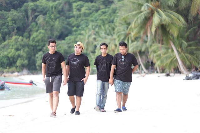 Pemandangan yang indah di Perhentian Island Resort