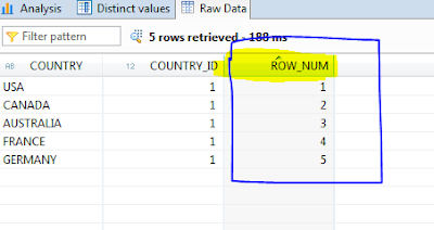 HOW TO GENERATE ROW NUMBER OR  SEQUENCE NUMBER USING HANA GRAPHICAL CALC VIEW RANK