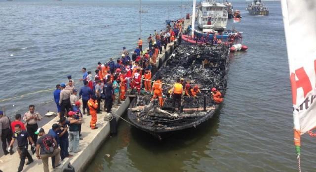 Korban Tewas Kapal Wisata Terbakar di Muara Angke Jadi 23 Orang