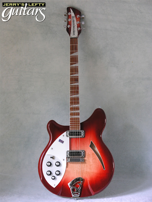 jerry 39 s lefty guitars newest guitar arrivals updated weekly rickenbacker 360 6 fireglow used. Black Bedroom Furniture Sets. Home Design Ideas