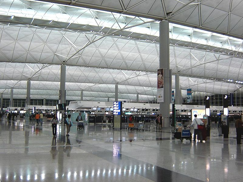Life in Hong Kong: Chek Lap Kok Airport