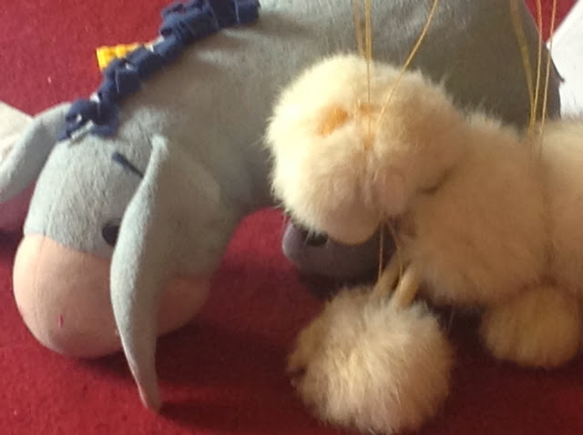 Pelham Puppet and Eeyore Toy