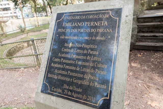 Emiliano Perneta, o Príncipe dos Poetas do Paraná na Ilha da Ilusão