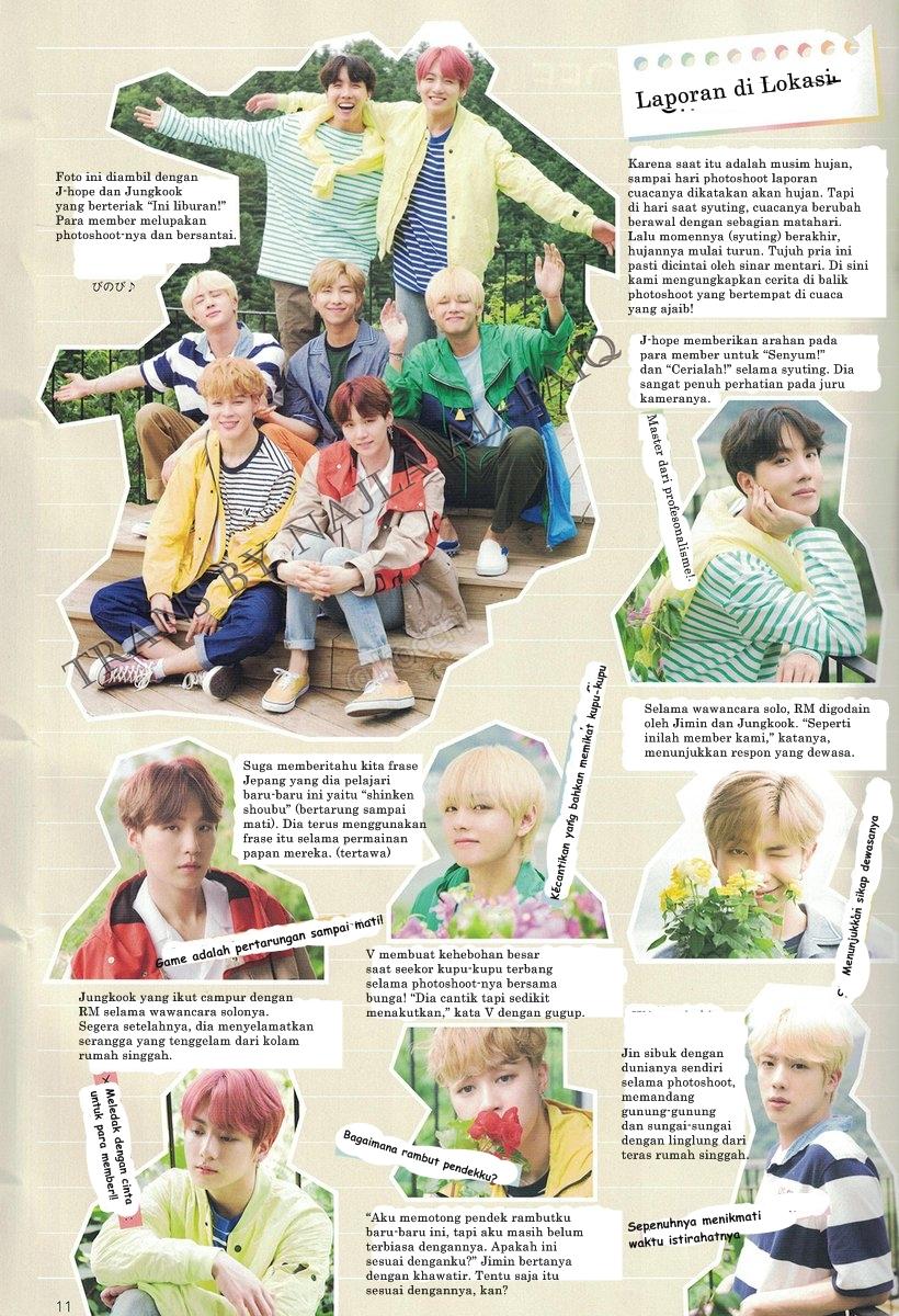 BTS Japan Official Fanclub Magazine Vol. 6 (page 11) HD