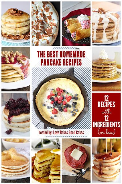 12 Homemade Pancakes Recipes