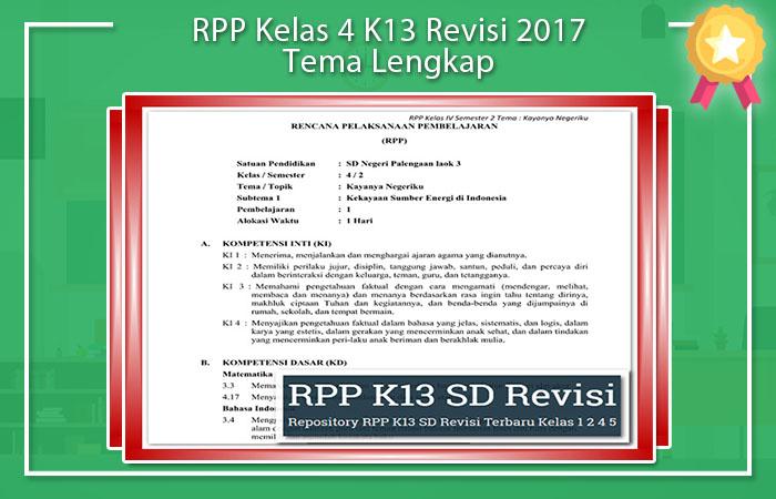RPP K13 Revisi 2017 SD Kelas 1 Semester 2