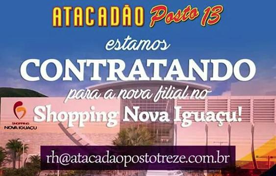 c452beb00 NOVA IGUAÇU - E que tal ser colaborador de uma das empresas de Atacado e  Varejo que mais cresce no Rio de Janeiro?