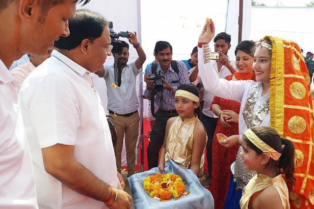 khel-maha-kumbh-innauguration-vipul-goel-cabinate-minister-faridabad