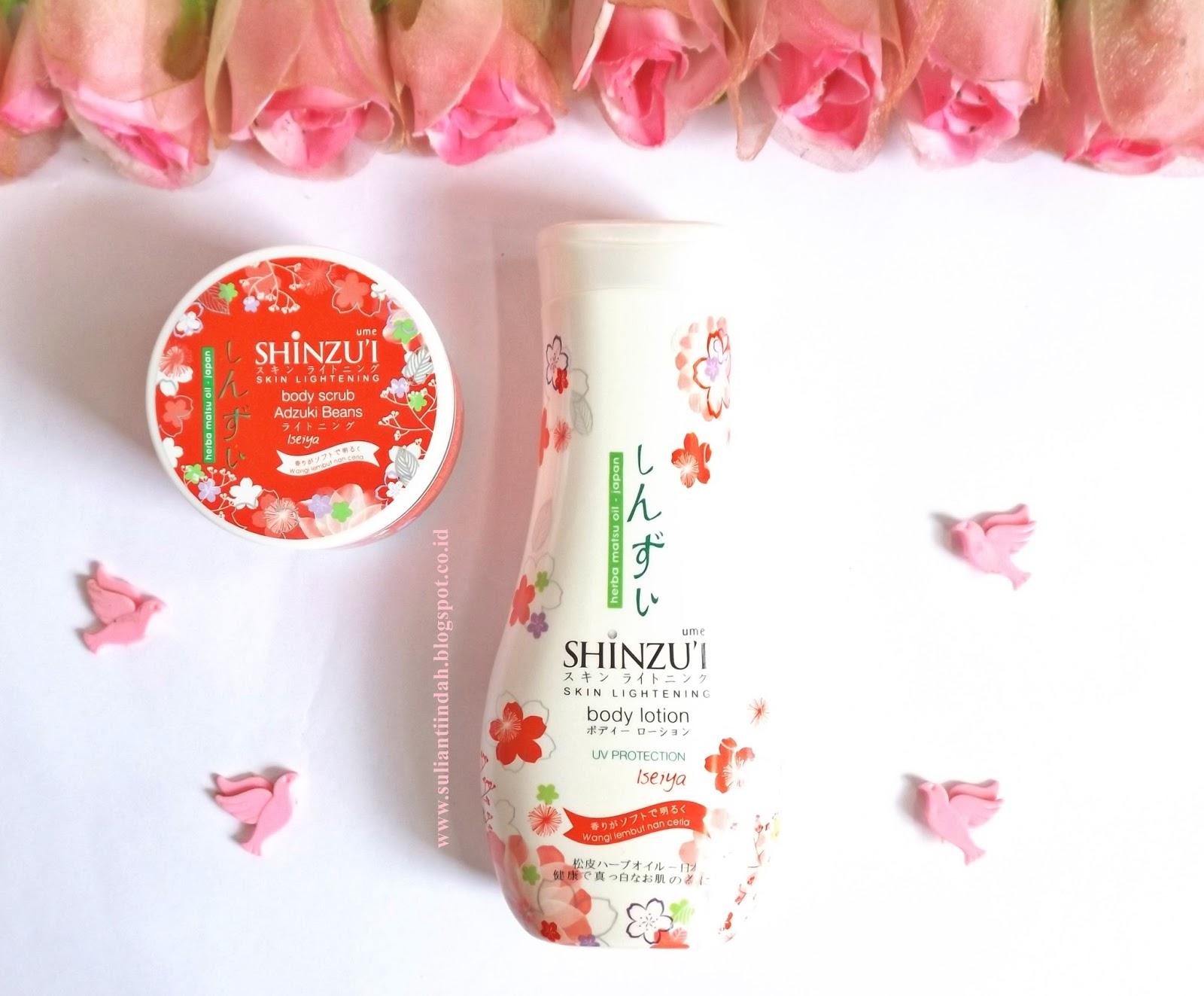 Before After My Beauty Secrets Shinzui Ume Body Scrub Adzuki Sabun Batang Beans Iseiya Dan Lotion