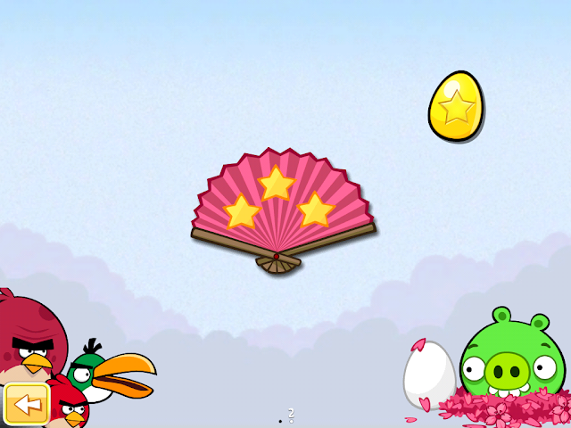 Angry Birds Seasons: Cherry Blossom - Golden Eggs