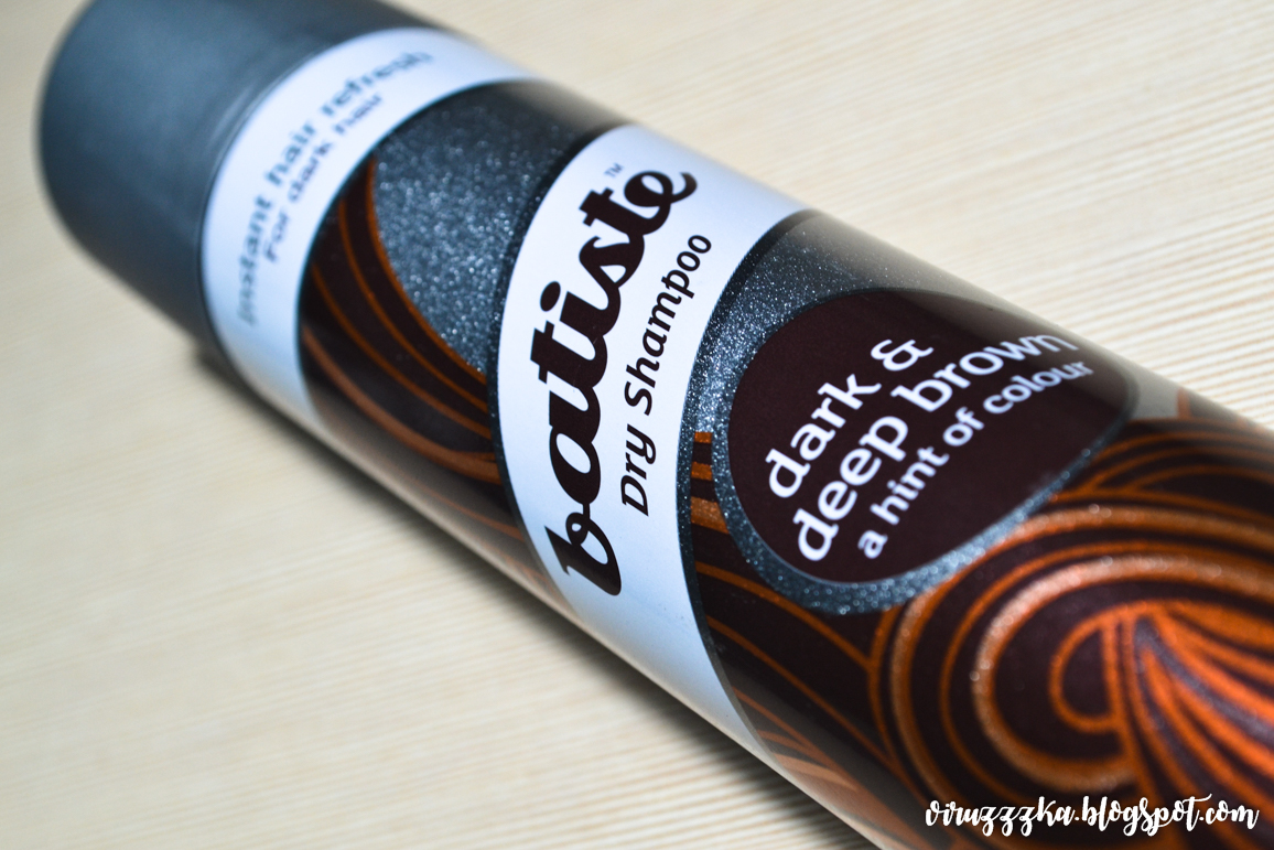 Batiste Dry Shampoo Dark and Deep Brown a Hint of Color
