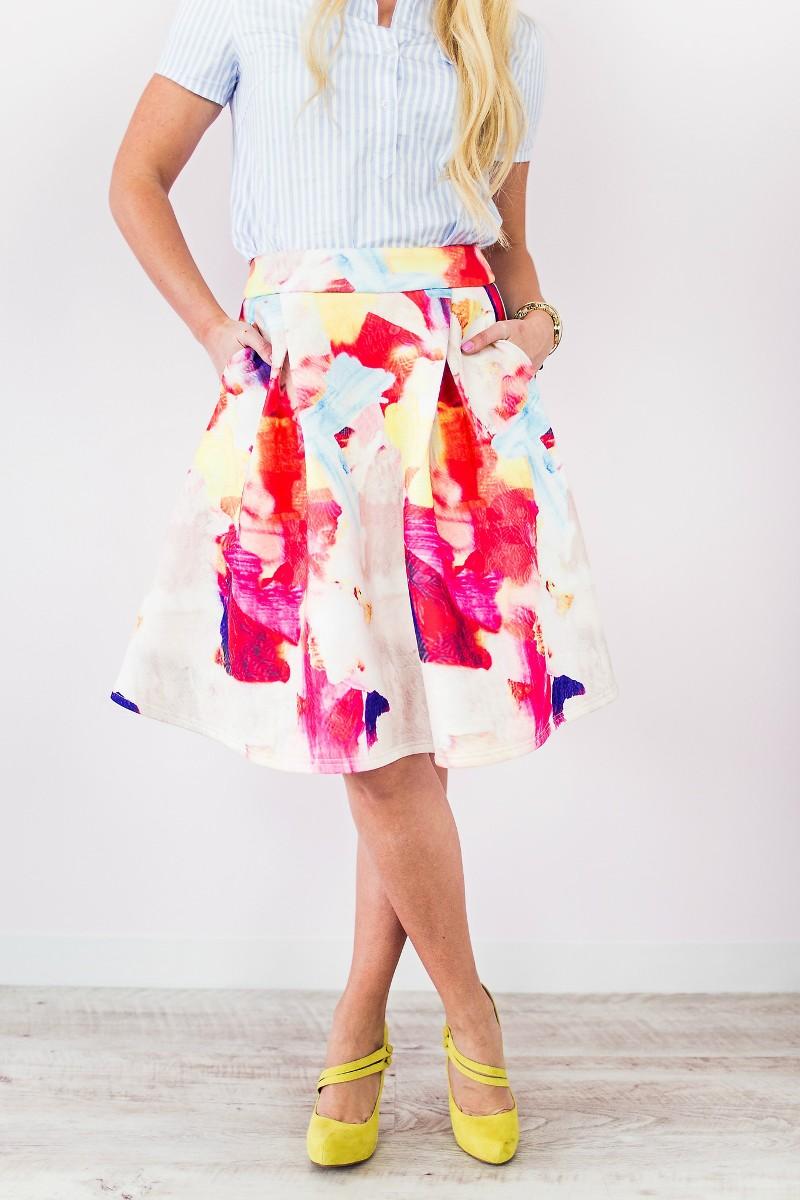 Gorgeous Midi Skirts for Spring - BirdsParty.com