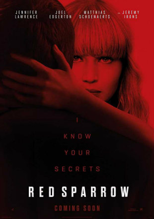 Red Sparrow 2018 Full HDRip Hollywood English Movie Download 720P