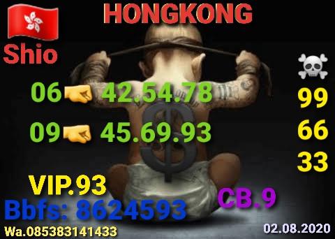 Kode syair Hongkong Minggu 2 Agustus 2020 9