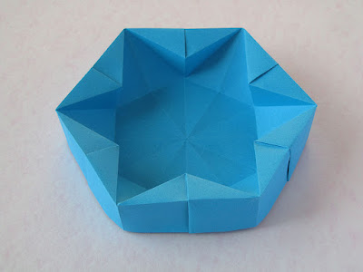 foto 4 Origami Hexagonal Box by Francesco Guarnieri
