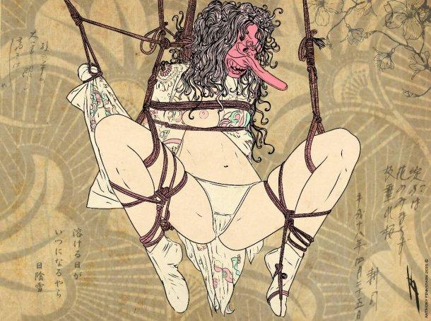 Anato Finnstark deviantart ilustrações fantasia fan-arts erótica sensual fetichista