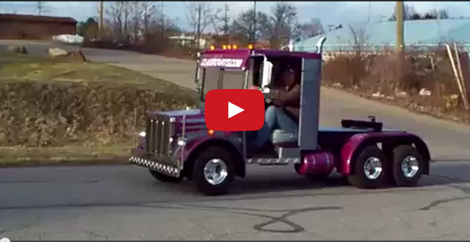 Big Truck Trader >> Truck Drivers U.S.A : golf cart semi truck build #1