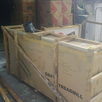 Jasa packing Treadmill.