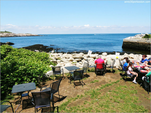 Lobster Shacks en Massachusetts: Exterior del The Lobster Pool Restaurant