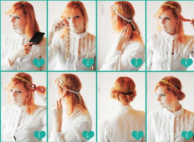 Enjoyable Easy To Do Hairstyles For Medium Hair At Home Carolin Style Short Hairstyles Gunalazisus