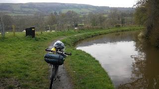 Bike on towpath
