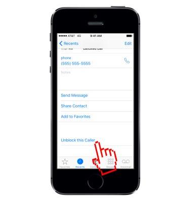 Cara Blokir No Orang pada Apple iPhone 5s