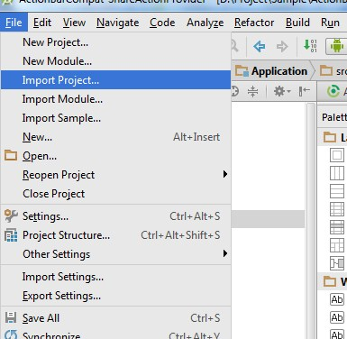 cara mengimport project android di eclipse, cara import project android di eclipse, cara import project android pada eclipse